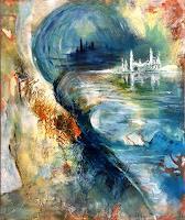 Isabel-Zampino-Fantasie-Landschaft-See-Meer-Gegenwartskunst-Gegenwartskunst