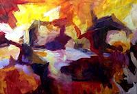 Isabel-Zampino-Landschaft-See-Meer-Moderne-Abstrakte-Kunst
