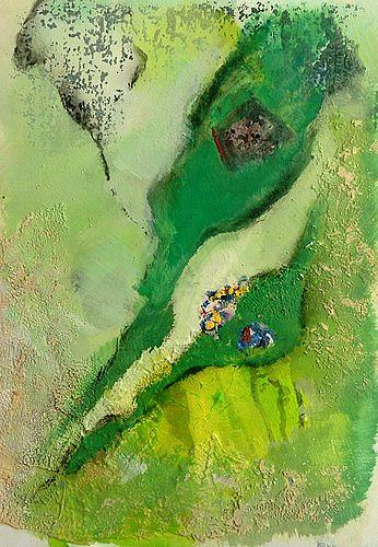 Isabel Zampino, von ganz weit oben II, Diverse Landschaften, Fantasie, Gegenwartskunst