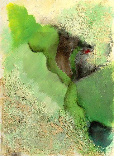 Isabel Zampino, von ganz weit oben I, Diverse Landschaften, Fantasie, Gegenwartskunst, Abstrakter Expressionismus
