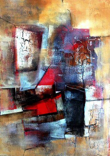 Isabel Zampino, In der Küche, Abstraktes, Arbeitswelt, Gegenwartskunst