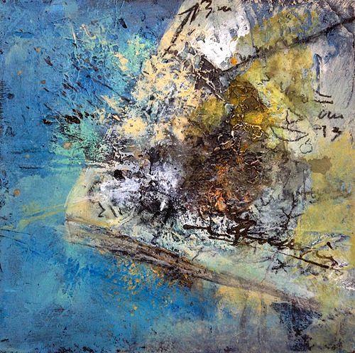 Isabel Zampino, Telefonnotizen I, Situationen, Gegenwartskunst, Abstrakter Expressionismus