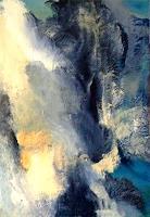 Isabel-Zampino-Natur-Wasser-Landschaft-Berge-Moderne-Abstrakte-Kunst-Informel