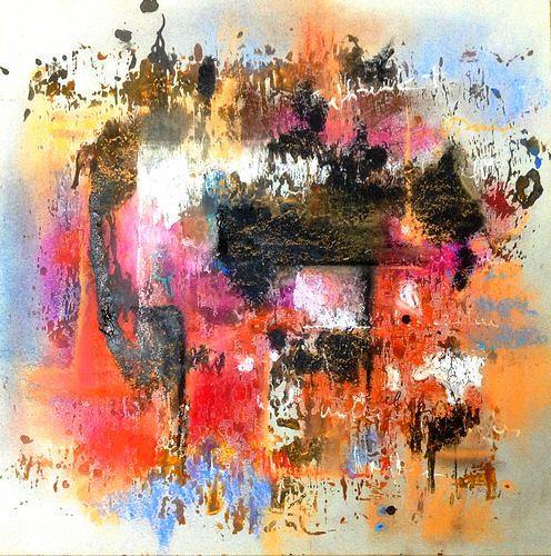 Isabel Zampino, o.T., Abstraktes, Abstraktes, Abstrakte Kunst, Abstrakter Expressionismus