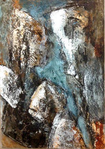 Isabel Zampino, Fels, Stein, Wasser, III, Natur: Gestein, Natur: Wasser, Gegenwartskunst