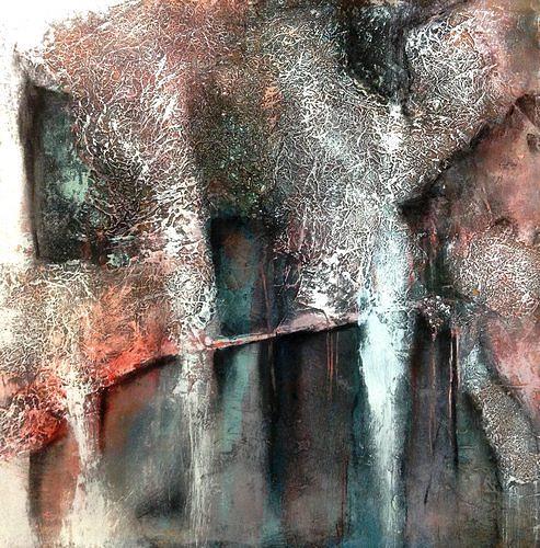 Isabel Zampino, Ruine, Diverse Bauten, Diverse Gefühle, Gegenwartskunst, Abstrakter Expressionismus