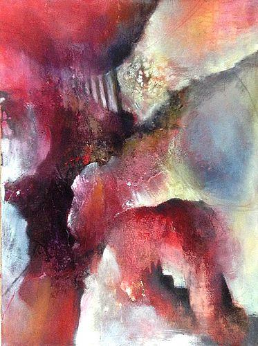 Isabel Zampino, auf der Suche nach Licht, Abstraktes, Fantasie, Gegenwartskunst