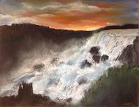 Isabel-Zampino-Natur-Wasser-Romantik-Sonnenuntergang-Gegenwartskunst-Gegenwartskunst