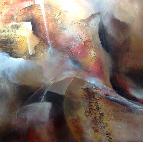 Isabel Zampino, Den Zeichen folgen, Fantasie, Diverse Gefühle, Gegenwartskunst, Expressionismus