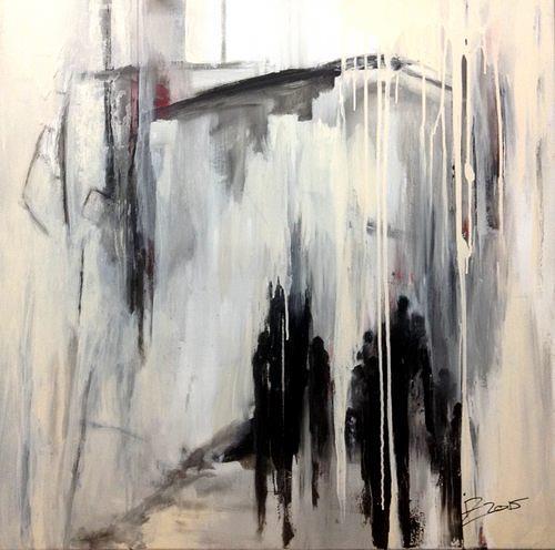 Isabel Zampino, Ausstellung, Menschen: Gruppe, Gegenwartskunst, Abstrakter Expressionismus
