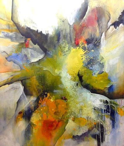Isabel Zampino, Wetterhexe, Fantasie, Natur: Diverse, Gegenwartskunst, Abstrakter Expressionismus