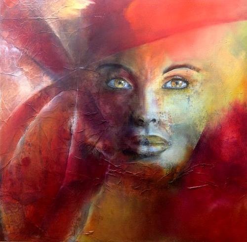 Isabel Zampino, Kio, Menschen: Frau, Menschen: Porträt, Gegenwartskunst, Abstrakter Expressionismus