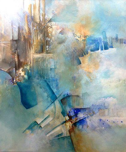 Isabel Zampino, Industrie, Industrie, Arbeitswelt, Gegenwartskunst, Expressionismus