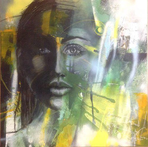 Isabel Zampino, Cela, Menschen: Frau, Menschen: Porträt, Gegenwartskunst, Expressionismus