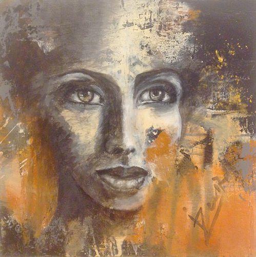 Isabel Zampino, Optimistisch, Menschen: Frau, Menschen: Porträt, Gegenwartskunst