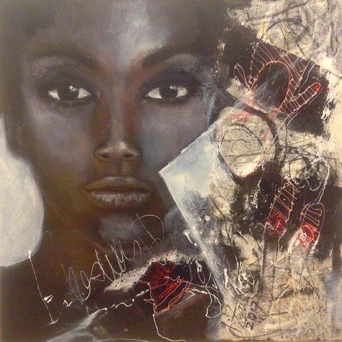 Isabel Zampino, Erinnerungen, Menschen: Frau, Menschen: Porträt, Gegenwartskunst, Expressionismus