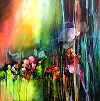 Isabel-Zampino-Pflanzen-Blumen-Landschaft-Sommer-Gegenwartskunst-Gegenwartskunst