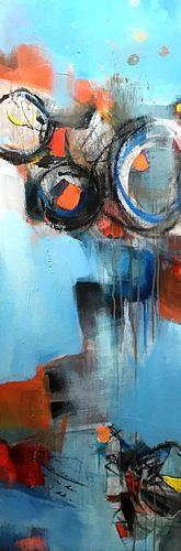 Isabel Zampino, Velocidad II (Geschwindigkeit), Bewegung, Fantasie, Gegenwartskunst