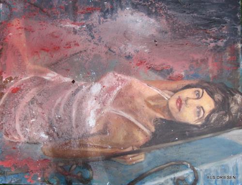 Els Driesen, Our last summer, Abstraktes, Menschen: Frau, Moderne, Expressionismus