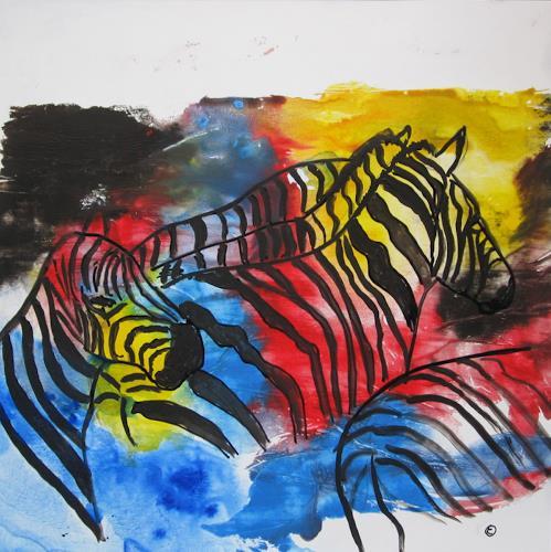 Els driesen kunst abstraktes tiere land moderne abstrakte kunst