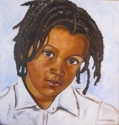 Els Driesen, Dechun, Menschen: Porträt, Menschen: Kinder, expressiver Realismus