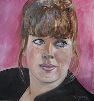 Els-Driesen-Menschen-Frau-Menschen-Portraet-Moderne-expressiver-Realismus