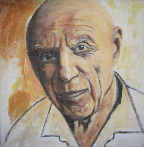 Els Driesen, picaso, Menschen: Mann, Menschen: Porträt, Impressionismus