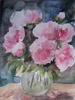 Els-Driesen-Pflanzen-Blumen-Diverse-Pflanzen-Moderne-Expressionismus