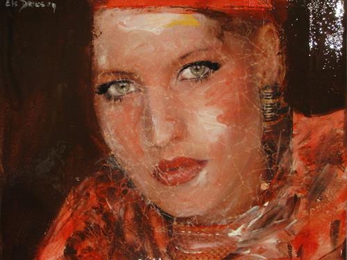 Els Driesen, I want you, Menschen: Porträt, Menschen: Frau, New Image Painting