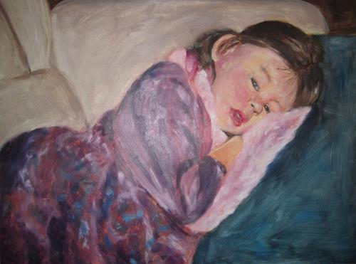 Els Driesen, Zieke Ashley, Menschen: Kinder, Menschen: Porträt, expressiver Realismus