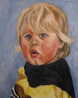 Els-Driesen-Menschen-Kinder-Menschen-Portraet-Moderne-Expressionismus