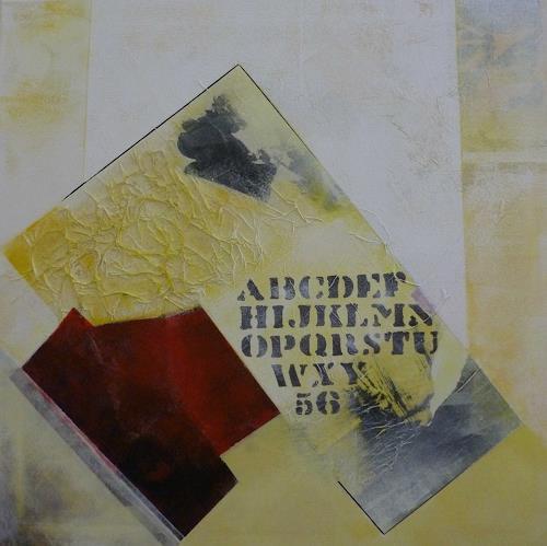 Doris Jordi, Collage, Abstraktes, Dekoratives