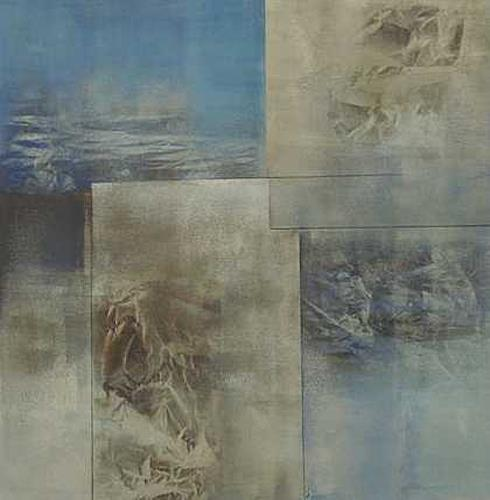Doris Jordi, Wasserwelt I, Natur: Wasser, Dekoratives