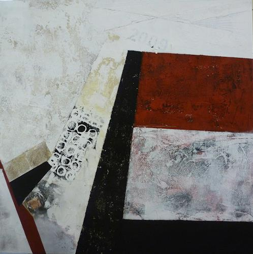 Doris Jordi, Eingang, Abstraktes, Dekoratives