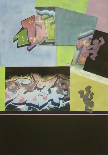 Doris Jordi, Graphity, Abstraktes, Dekoratives, Art Déco