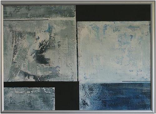 Doris Jordi, Deep Water, Abstraktes, Dekoratives