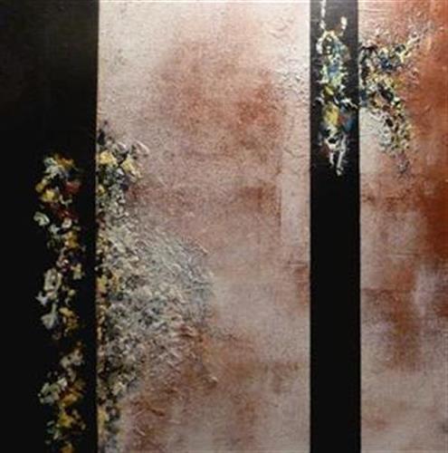 Doris Jordi, Tanzende Farben, Abstraktes, Fantasie