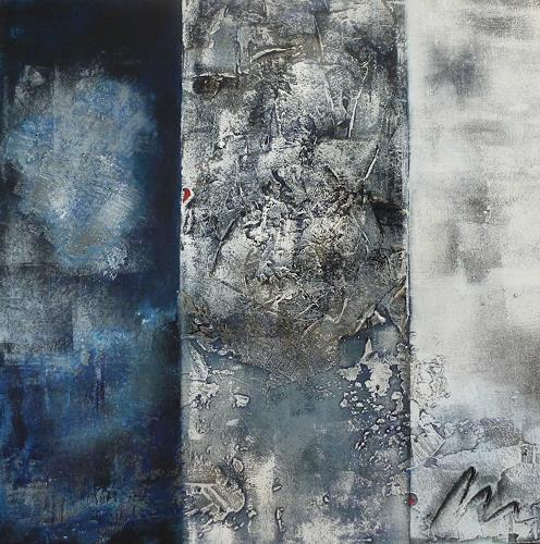 Doris Jordi, Blue Dream, Dekoratives, Abstraktes, Abstrakte Kunst