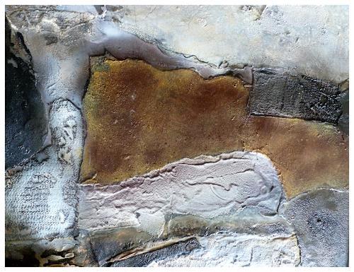 Doris Jordi, durchs Labyrinth, Abstraktes, Expressionismus