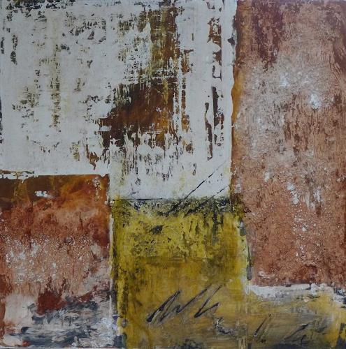 Doris Jordi, Malen ohne Farbe ii, Abstraktes