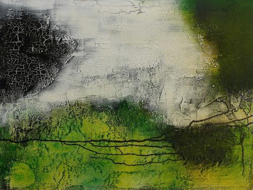 Doris Jordi, Arcanum / das Geheimnis, Dekoratives, Abstraktes, Abstrakte Kunst