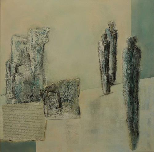 Doris Jordi, Memorial place, Menschen: Gruppe, Gefühle: Trauer, Expressionismus