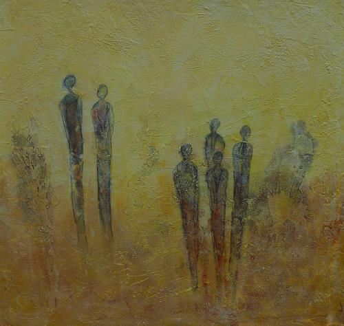 Doris Jordi, Meeting Point, Dekoratives, Menschen: Familie