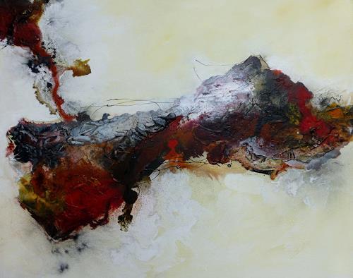 Doris Jordi, Schmelztigel, Abstraktes, Dekoratives, Expressionismus