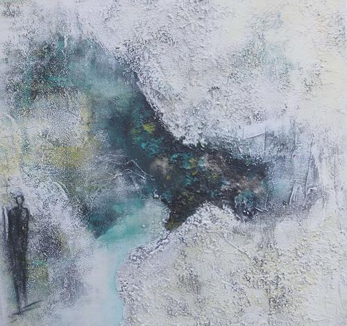 Doris Jordi, am See, Dekoratives, Landschaft: See/Meer