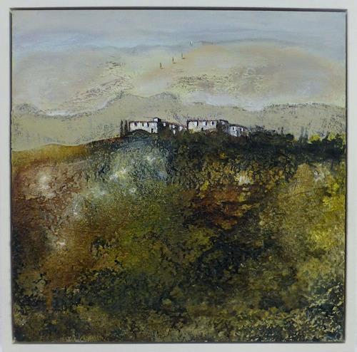 Doris Jordi, nahe dem Abgrund, Landschaft: Hügel, Diverse Landschaften, Expressionismus