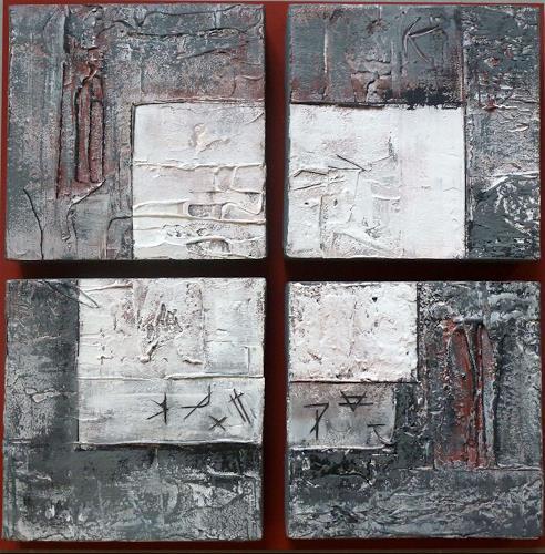 Doris Jordi, Quartett, Abstraktes, Dekoratives
