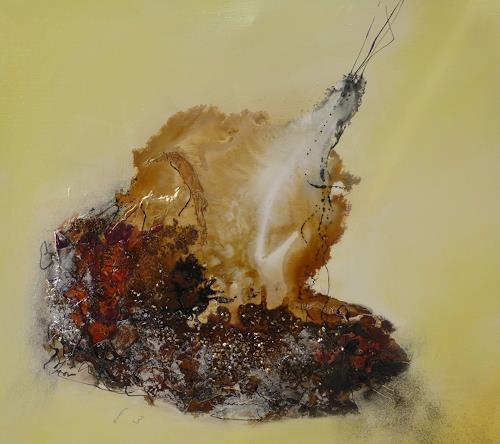 Doris Jordi, Faszination eines Steines, Natur: Erde, Mythologie, Abstrakte Kunst, Expressionismus
