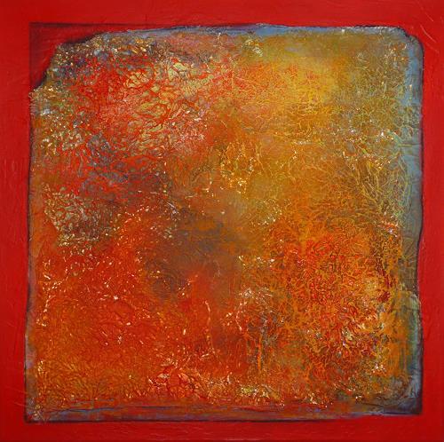 Doris Jordi, wenn es brennt...., Dekoratives, Abstraktes
