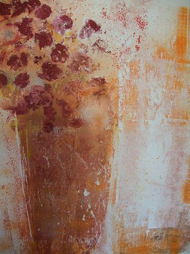 Dorothea Tlatlik, Blüten, Abstraktes, Pflanzen: Blumen, Expressionismus